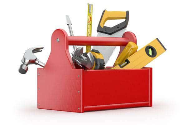 Набор инструментов для строительства
