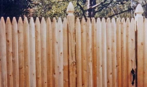 Забор-частокол