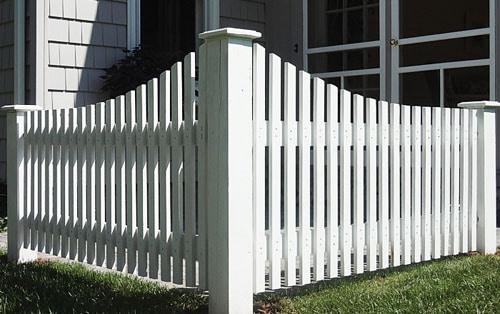 Забор-штакетник