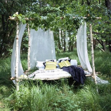 простой вариант устройства зоны отдыха