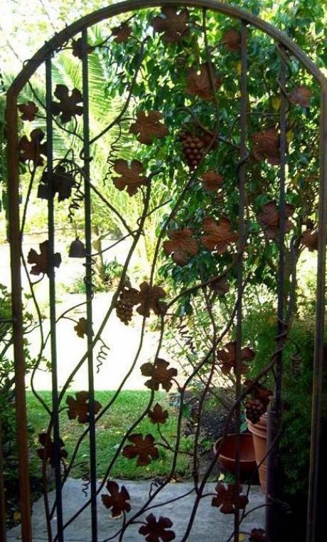 идеи для кованой ограды